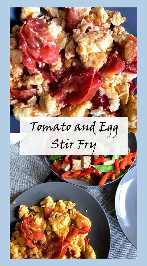 tomato and egg stir fry