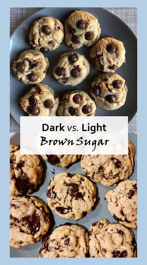 Dark vs Light brown sugar