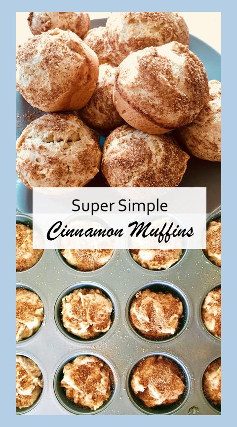 super simple cinnamon muffins