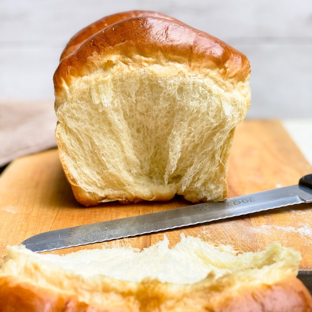 Perfectly fluffy, tender bread with a subtle sweetness and richness. Skip the stand mixer and make this wonderful loaf completely by hand.