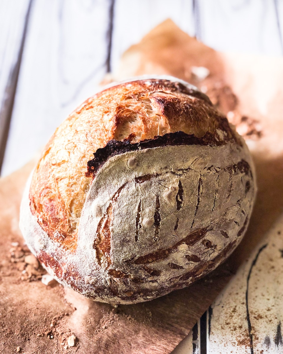 How to bake sourdough (and any crusty bread!) without a Dutch Oven