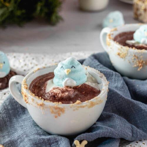 penguin meringue cookies