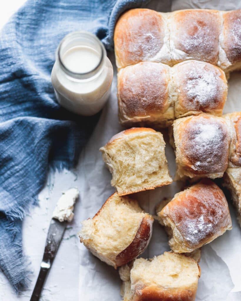cream cheese bread rolls