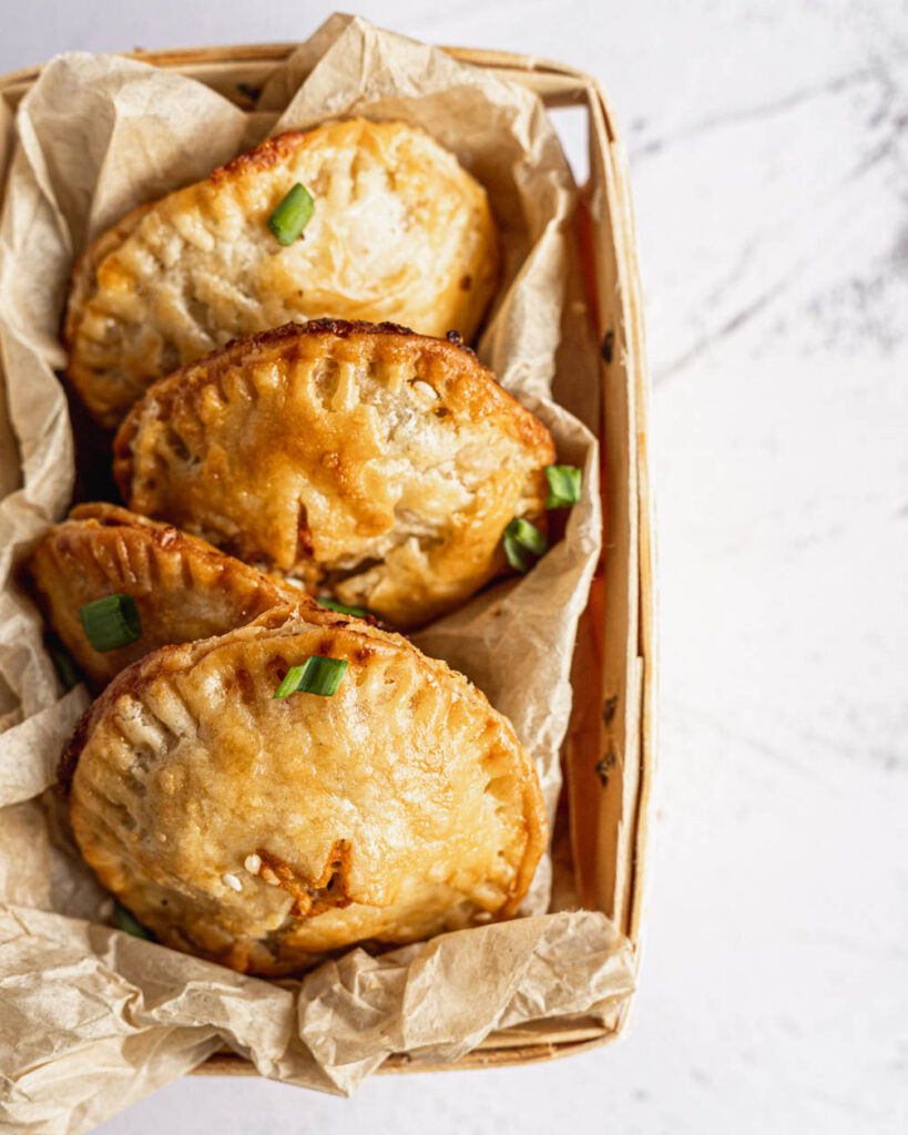 flaky sourdough hand pies
