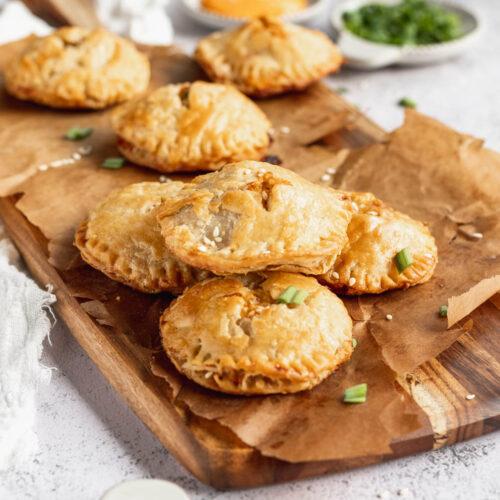 savory sourdough hand pies