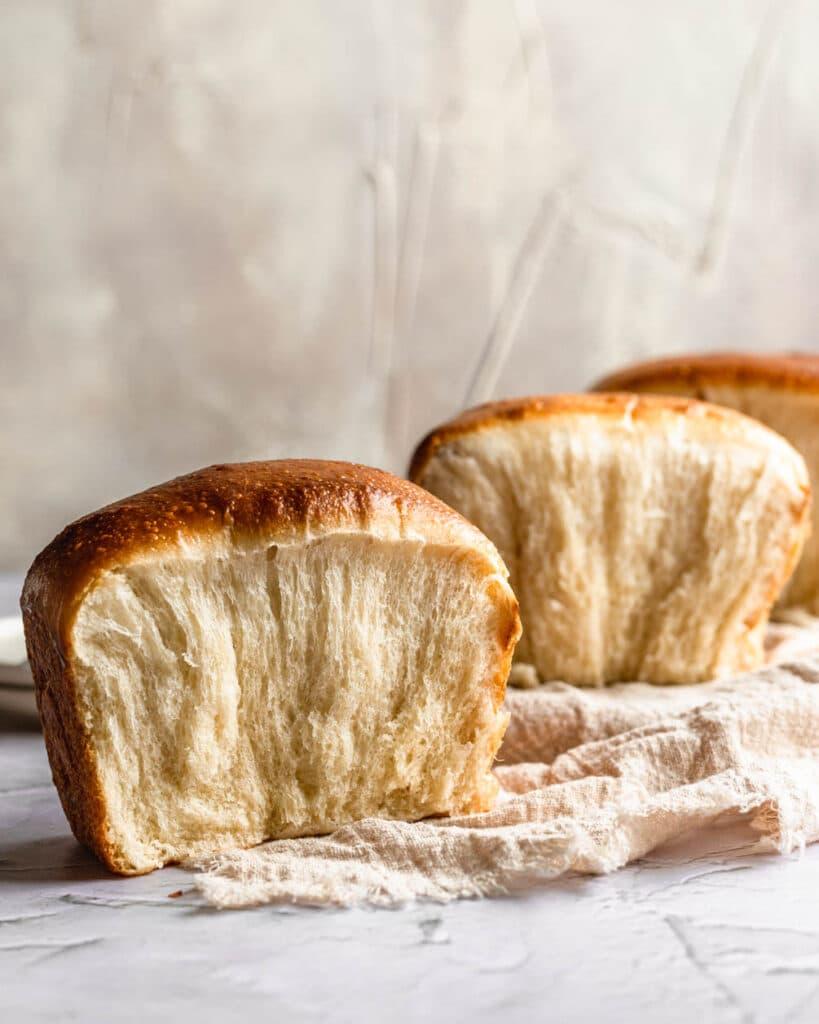 fluffy sourdough milk bread