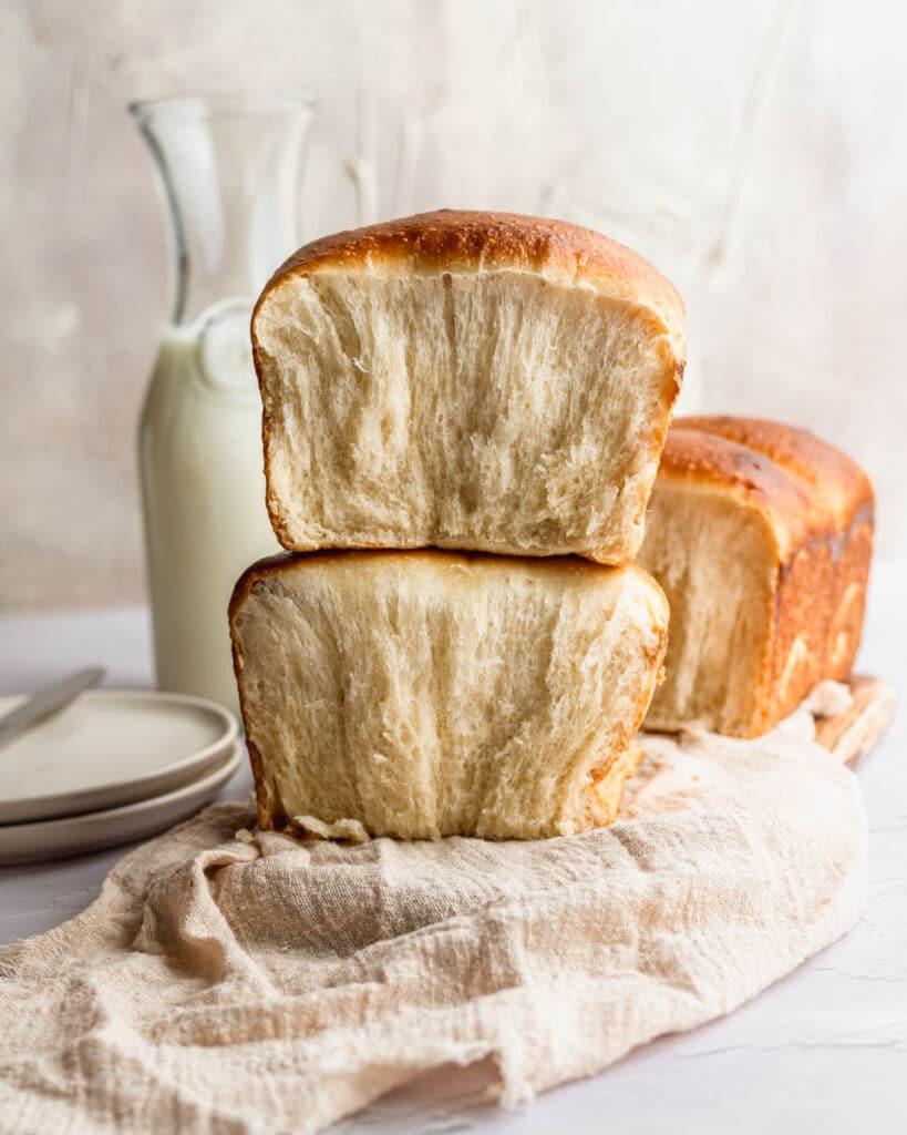 sourdough japanese milk bread