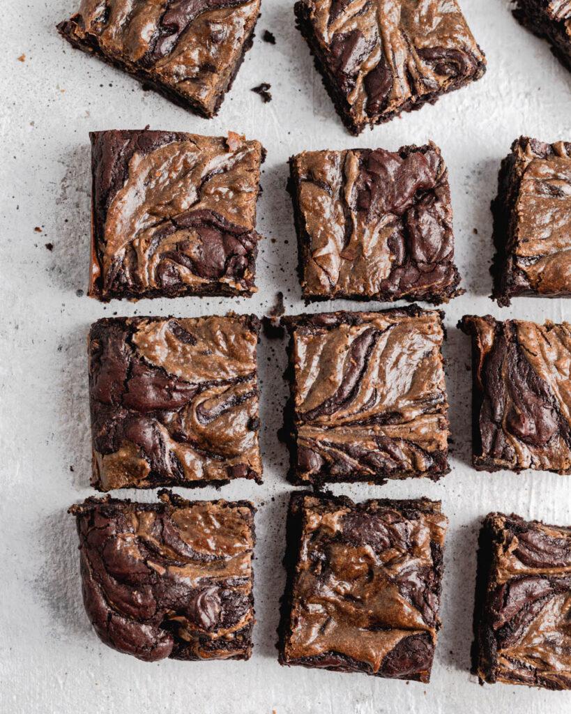 hojicha brownies